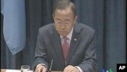ເລຂາທິການໃຫຍ່ອົງການສະຫະປະຊາຊາດ ທ່ານ Ban Ki-moon