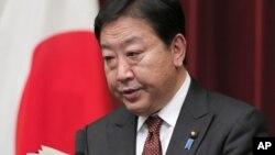 日本首相野田佳彦(资料照片)