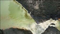 آلودگی نفتی در لرستان و اصفهان