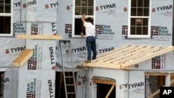 美國房屋建設增加通貨膨脹率上揚
