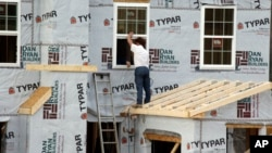 Khu nhà đang xây trong thị trấn Zelienople, bang Pensylvania