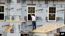 Departemen Perdagangan AS menyebutkan pembangunan rumah melamban pada bulan Juni (foto: ilustrasi).