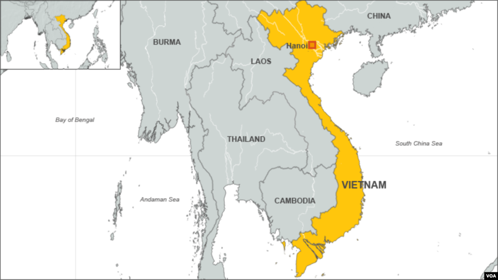 Vietnam Defends Foreign Policy China Ties - Map of china and vietnam
