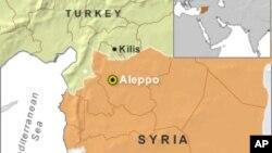 Bản đồ biên giới Syria, Thổ Nhĩ Kỳ