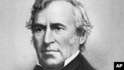 An undated portrait of the 12th president of the United States, Zachary Taylor (1849-1850). Taylor died in office on July 9, 1850. (AP Photo/NYPL Picture Collection)