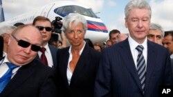 Сергей Собянин, крайний справа (архивное фото)