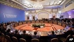 Міжнародні переговори в Астані в справі мирного врегулювання в Сирії