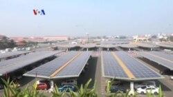 Bandara yang Total Andalkan Listrik Surya