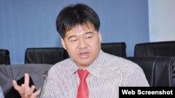 Ông Nguyễn Hoài Giang, Chủ tịch Công ty Lọc hóa dầu Bình Sơn. Ảnh VietnamFinance