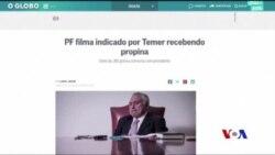 巴西總統特梅爾否認支持行賄 (粵語)