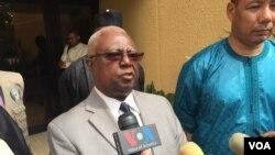 L'ancien président du Liberia, Amos Sawyer