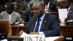 Raul Danda líder parlamentar da UNITA