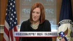 VOA连线:中东政治发展必然产物? 美驳斥:ISIL恐怖组织