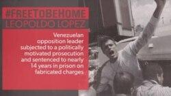#FreeToBeHome Leopoldo Lopez