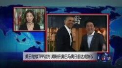 VOA连线:美日继续TPP谈判期盼在奥巴马离日前达成协议 美日同意扩大安全合作