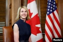 새 유엔대사로 지명된 켈리 크래프트 캐나다 주재 미국 대사.
