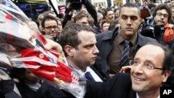 Ứng cử viên đảng Xã Hội Pháp Francois Hollande