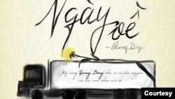 Poster album Ngày về của tác giả Nguyễn Anh Dũng - Hoàng Quang Linh, do QD Music phát hành và GUMAC tài trợ. Ảnh do Nguyễn Anh Dũng cung cấp cho VOA.