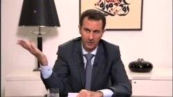 گفتگوی بشار اسد با رسانه های روسی و تأکید بر پشتیبانی ایران از سوریه
