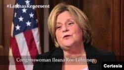 Legisladora republicana por Florida, Ileana Ros-Lehtinen