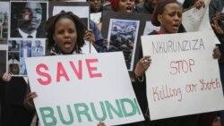 Reportage de Christophe Nkrunziza, correspondant à Bujumbura pour VOA Afrique