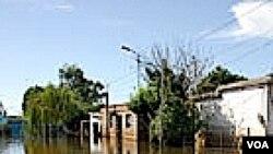 Hay seis departamentos afectados por las inundaciones en todo el país.