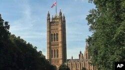 Gedung parlemen Inggris di London (foto: dok). Parlemen Inggris mengesahkan sejumlah amandemen atas RUU perkawinan sejenis.