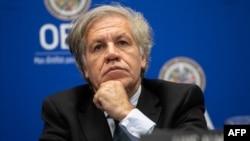El secretario general de la Organización de Estados Americanos (OEA), Luis Almagro, ha dicho enuna conferencia de prensa que el trabajo del organismo que preside ha sido impecable.