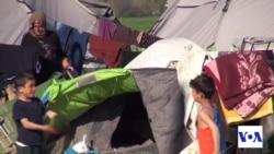 Aid Worker: Conditions at Border Camp Lack Dignity