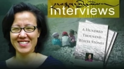 "Kunsang Dolma, author of ""A Hundred Thousand White Stones,"""