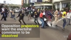 Police in Nairobi Break Up Opposition Protests