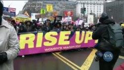 Марш жінок на Вашингтон 2020: заклик до соціальних змін та рівності в суспільстві. Відео