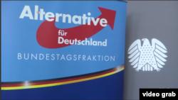 Alternative für Deutschland (AfD) atau partai Alternatif untuk Jerman memperoleh 12,6 persen suara dalam pemilihan umum tahun ini. (Foto: VOA/videograb)