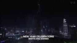 ย้อนชมวีดิโอ บรรยากาศการเฉลิมฉลองปีใหม่ ดูไบ-อิสตันบูล-มอสโคว์-โตเกียว-เปียงยาง