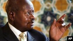Rais Yoweri Museveni wa Uganda.