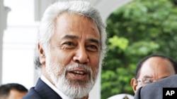 Primeiro-ministro timorense Xanana Gusmão
