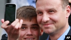 波兰反对党法律正义党当选总统杜达