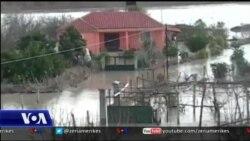Pasojat e reshjeve në jug të Shqipërisë
