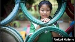 ထုိင္းႏုိင္ငံမွာ ႏုိင္ငံသားျဖစ္ခြင့္ မရခင္အထိ ႏုိင္ငံမဲ့ျဖစ္ေနသူ (Credit: UNHCR/R.Arnold)