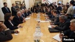 Встреча представителей сирийской оппозиции с Сергеем Лавровым