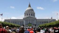 Ginin majalisar karamar hukumar birnin San Francisco dake nan Amurka wanda ya yi dokar shan lemun kwalba