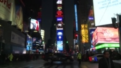 2017-12-31 美國之音視頻新聞: 紐約市加強新年慶祝保安