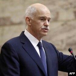 Gretsiya Bosh vaziri Yorgus Papandreu referendum taklifidan voz kechdi