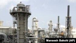 Sebuah fasilitas produksi dalam kilang gas alam cair (LNG). (Foto: Ilustrasi)