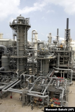 Production facility 4 of $13.2 billion Qatargas 2, the world's first fully integrated value chain liquefied natural gas (LNG) venture, which was inaugurated on April 6 by the Qatari Emir, Sheikh Hamad bin Khalifa al Thani at Ras Laffan, on Saturday, April