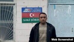 İslam Həsənov (Foto Həsənovun facebook səhifəsindən götürülüb)