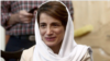 Jailed Iranian human rights lawyer Nasrin Sotoudeh, seen here in this photo shared on social media prior to her June 2018 imprisonment, had health complications from a recent hunger strike, her husband told VOA Persian in an Oct. 13, 2020, interview.
