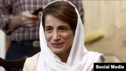 L'avocate iranienne Nasrin Sotoudeh avant son emprisonnement en juin 2018.