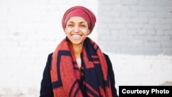 Umwimukira IIhan Omar aturuka muri Somaliya, yatsindiye ikibanza c'Umushingamateka muri Reta ya Minnesota