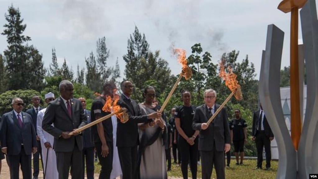 Rwanda ႏိုင္ငံ လူမ်ိဳးတုန္း သတ္ျဖတ္မႈ ၂၅ ႏွစ္ျပည့္ ႏွစ္ပါတ္လည္ အခမ္းအနား